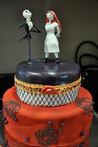 Rocky Wedding Cake