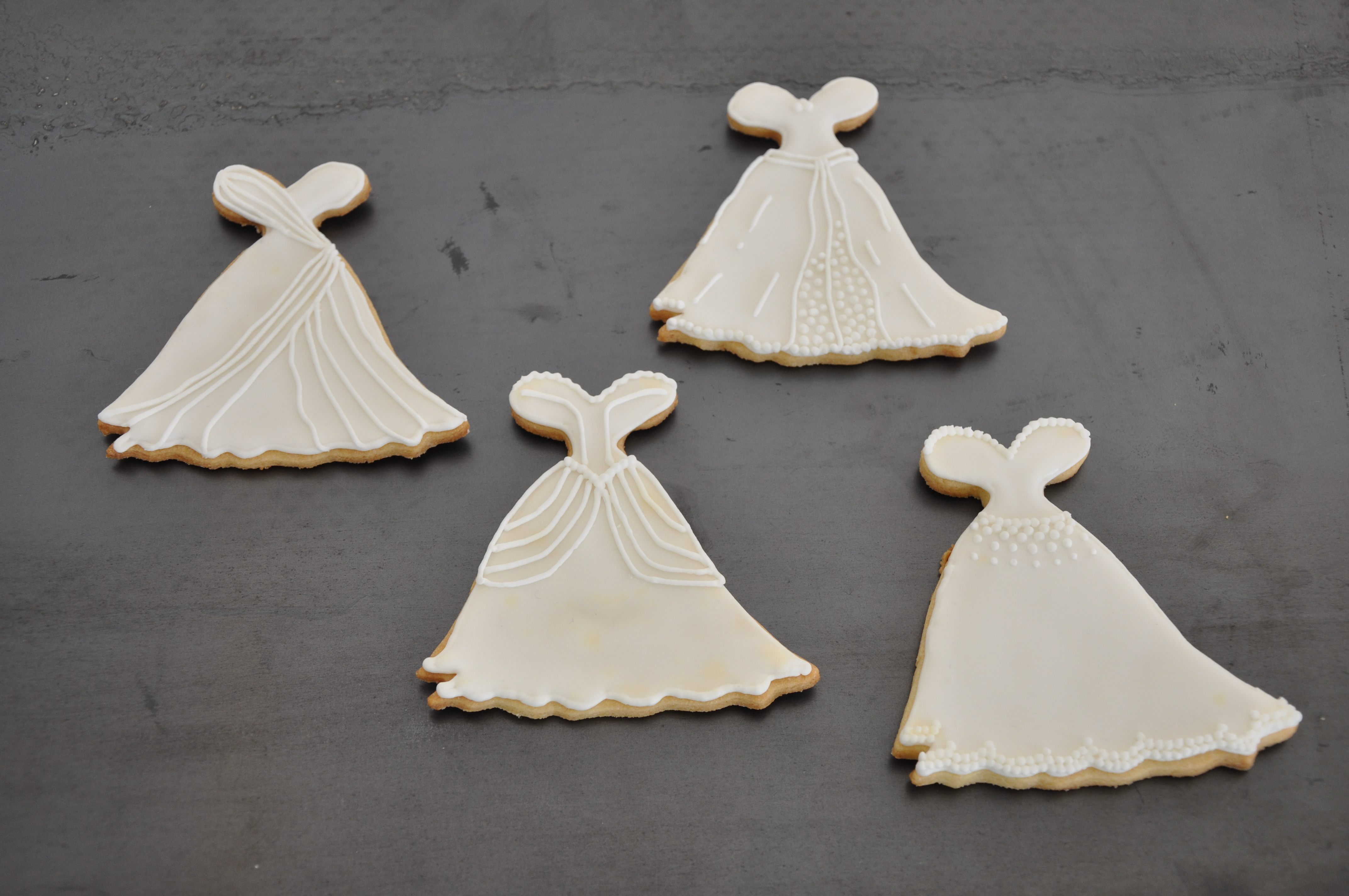 Wedding dress cookies wedding dress collections for Wedding dress consignment nj