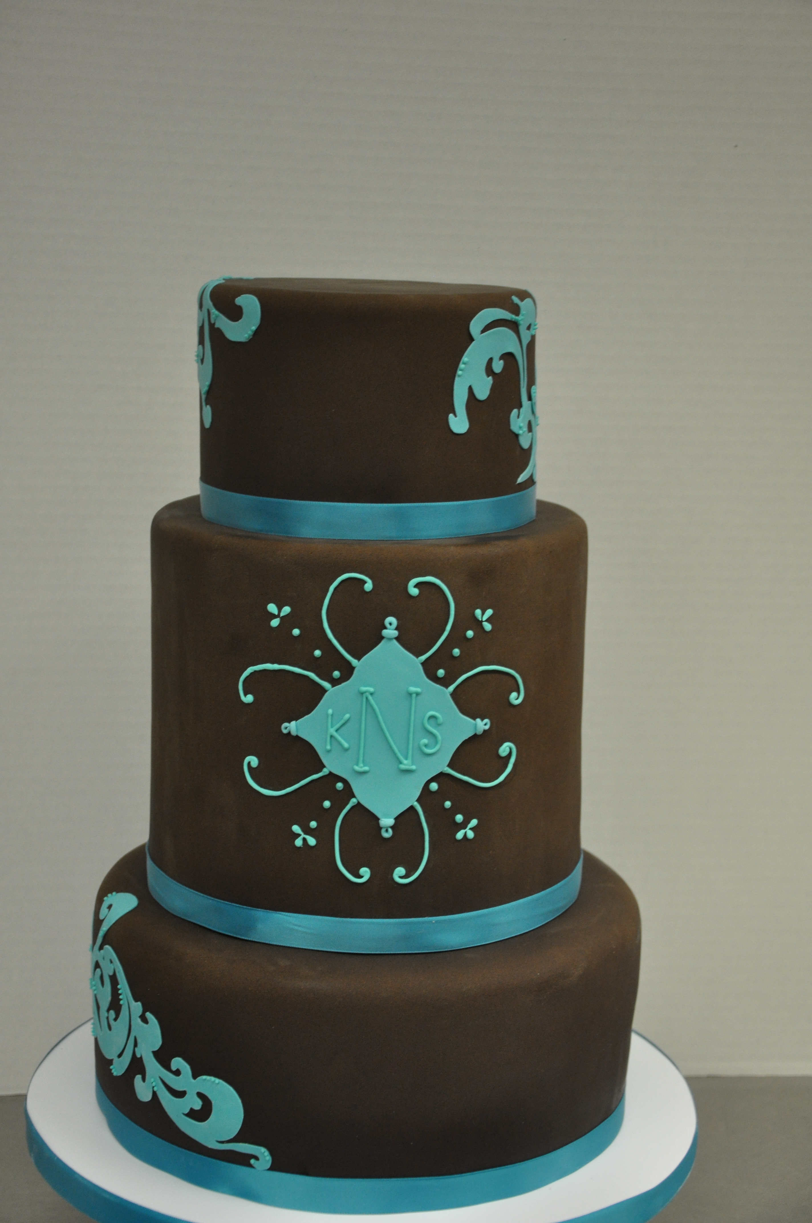 chocolate turquoise cake urban sweets. Black Bedroom Furniture Sets. Home Design Ideas